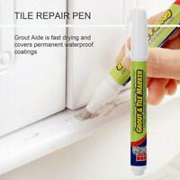 1x Grout Aide Tile Marker Repair Pen White Color Repair Wall Pen Packaging Best