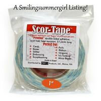 Scor Tape Adhesive 1 2 Quot X 27yd By Scor Pal Value Ebay