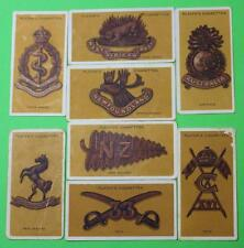 Vintage Cigarette Cards John Player & Sons Colonial & Indian Army Badges 1916 48