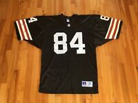 Vintage Russell Athletic Sz 48 Cleveland Browns NFL Jersey #84 Stitched Numbers
