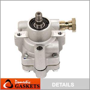 Power Steering Pump Fit 02-06 Nissan Altima 04-08 Maxima Quest 3.5L DOHC VQ35DE