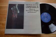 MICHAEL KOCAB Odysseus LP Supraphon stereo 11 1177-1