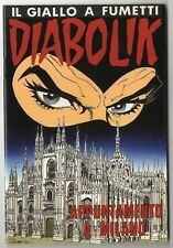 DIABOLIK ALBO SPECIALE FUORISERIE FIERA COMICONVENTION 1992 APPUNTAMENTO MILANO