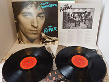 BRUCE SPRINGSTEEN - THE RIVER double LP with poster insert & sleeves EXC NICE!
