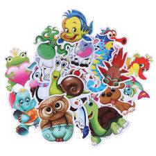 30Pcs Cartoon animal stickers Diy scrapbook suitcase laptop guitar bike stick^P