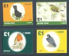 Ireland-Birds complete set of small size booklets-1997 series mnh
