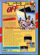 "Tip Off ""Anco"" Basketball 1991 Magazine Advert #5563"