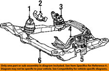 Lincoln FORD OEM 98-00 Continental-Engine Motor Mount Torque Strut XF3Z6068AA