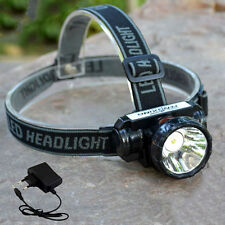 Super Bright Led Headlamp Rechargeable Head Lamp Light Torch For Fishing Hunting