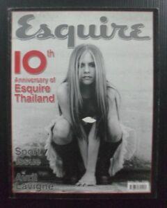 2004 Avril Lavigne Kim Basinger Vintage Esquire THAILAND Magazine Book MEGA RARE