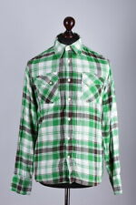 Nudie Jeans Checked Long Sleeve Shirt Size M