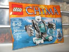 """LEGO LEGENDS OF CHIMA """"ICEKLAW'S MECH""""   # 30256  NEW IN POLYBAG!!"""