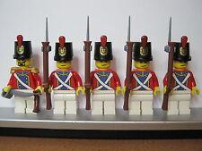 Lego PIRATES NAPOLEONIC WARS SWITZERLAND FUSILIER Infantry Soldiers MINIFIGS