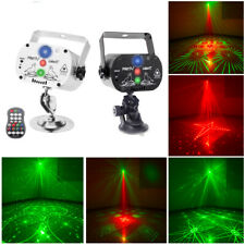 U`king RG Laser + RGB LED Stage Light Pattern Disco DJ Party USB Remote control