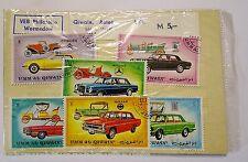 DDR Briefmarken für die BRD- VEB Philatelie Wermsdorf-6 Stück/SET-Umm Al Qiwain
