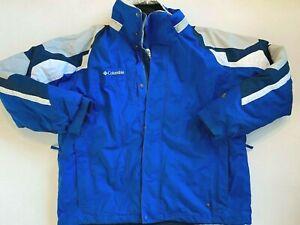 Columbia Vertex 2-In-1 Core Interchange Winter Ski/Snow Jacket Men's XL