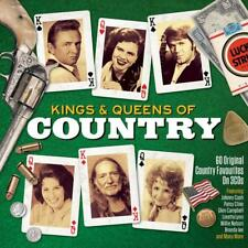 KINGS & QUEENS OF COUNTRY - VARIOUS ARTISTS (NEW SEALED 3CD)