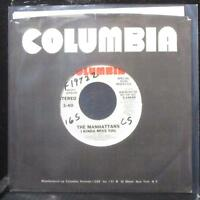 "The Manhattans - I Kinda Miss You 7"" VG+ Promo Vinyl 45 Columbia 3-10430 USA"
