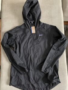 Patagonia Houdini Running Jacket Windbreaker - Women's Medium $99.00 24147 Black