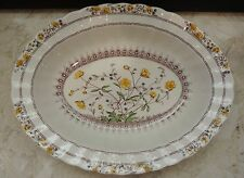 Spode Buttercup Oval Vegetable Bowl 10""