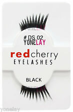Lot 3 Pairs GENUINE RED CHERRY Lashes Accent DS02 Sloan Eyelashes DS 02 Lash