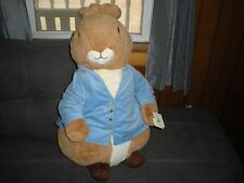 HUGE JUMBO PLUSH PETER RABBIT-BABY OR KIDS ROOM DECOR GIFT BUNNY