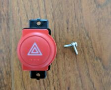 HONDA OEM RSX DC5 CIVIC SI EP3 JDM RED HAZARD LIGHT BUTTON SWITCH ASSEMBLY