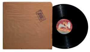 """LED ZEPPELIN - In Through The Out Door LP """"C"""" Cover W/ Original Paper Cover EX!"""