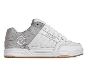 Globe Tilt White/Grey/Split Mens Shoes US-9