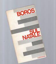 boros - sul natale -
