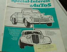 1972 Special-Interst Autos Apr-May Issue.  Features the 1947 Ford Sportsman