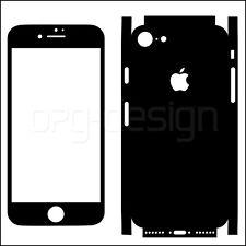 Iphone 7 Sticker Aufkleber Schwarz Glanz Skin Schutzfolie Klebefolie