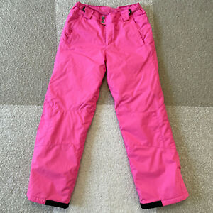Columbia Bohemian Beauty Snow Ski Pants Omni Shield Girls Size 18/20 Pink