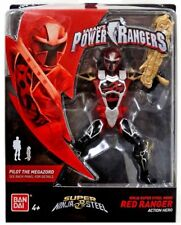 Power Rangers Super Ninja Steel 12.5cm Red Ranger Figure - (BNIB) - 43941