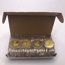 50pcs Gold  Litecoin Cryptocurrency Metal Coins
