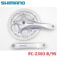 Shimano FC-2303 8/9 Speed Road Bike Crankset 30-42-52T 170mm Square Tapper