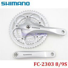 Shimano FC-2303 8/9 Speed Road Bike Crankset 30-42-52T 170mm Square Tapper
