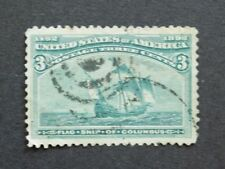 Machine Cancel 3 Cent US Back of Book Stamps