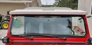 Lund Fiberglass Cab Windshield Visor Jeep Wrangler CJ YJ 86-95 91 92 93