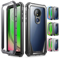 Moto G7 Power / Moto Z4 Rugged Clear Case,Poetic® Hybrid Shockproof Bumper Cover