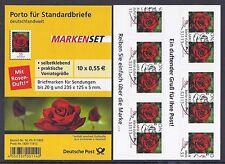 Bund Mi. Nr. 2675 - Folienblatt 7 - Blumen Ersttagstempel Bonn aus Jahrgang 2010