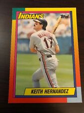 1990 Topps Traded Keith Hernandez Cleveland Indians 39T