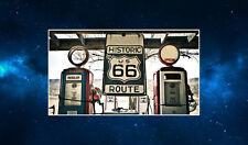 Route 66 Gas Station Fridge Magnet. NEW. Retro Americana