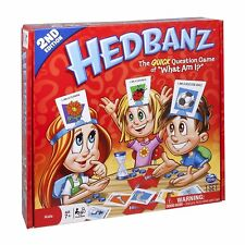 "Hedbanz Board Game - The Quick Question Game of ""What Am I?"" - 2nd Edition"