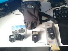 Canon Eos 650 35mm Slr Film Camera Body Bundle with accessories + bag