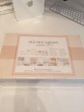 Tutte le occasioni invitare BOX-Deluxe invito Card Making Set-matrimoni ecc.