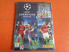 ALBUM FIGURINE PANINI UEFA CHAMPIONS LEAGUE 2009-10 ED. FRANCIA SIGILLATO SEALED