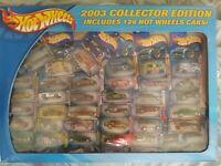 2003 Hot Wheels Factory Sealed Set All 126 Cars w/Treasure Hunts & 1st Editions