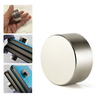Large N52 40MM*20MM Super Strong Neodymium Round Rare Earth Fridge Magnets Thick
