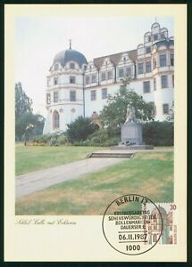 Mayfairstamps Germany FDC 1987 Castle Celle Maximum First Day Card wwp_51451